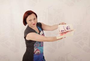 +Zoe E Breen models the risograph compilation