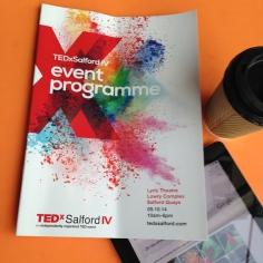 TEDxSalford programme
