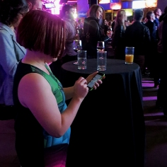 Caught tweeting at #msf14 launch by @23kallisti
