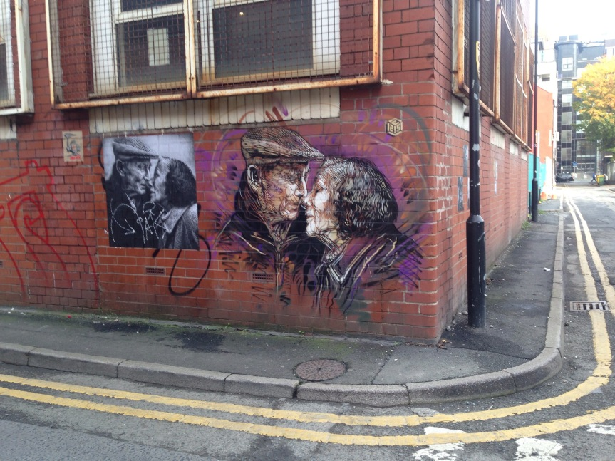 Street art tour in Manchester's fashionable Northern Quarter