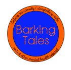 Barking Tales comedy night logo.